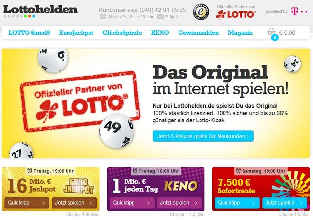 Lottohelden Online