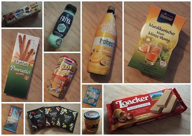 Neue Produkte Lebensmittel