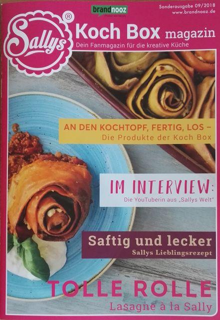 Mit Sallys Kochbox Neue Rezepte Entdecken Warentests Praxisnah